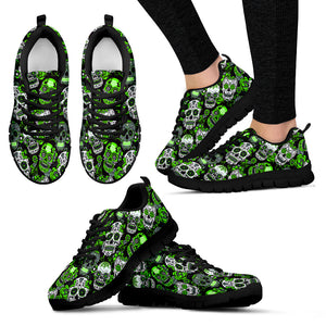 SUGAR SKULL Sneakers Green