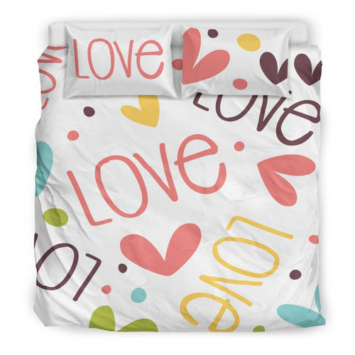 Love Duvet Set