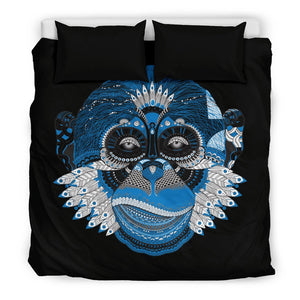 Blue Monkey Duvet Covers