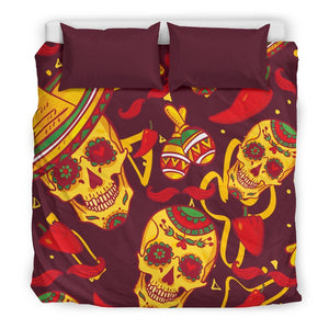 Mexican Skull Duvet Covers