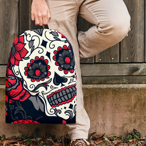 SUGAR SKULLS BACKPACK BR