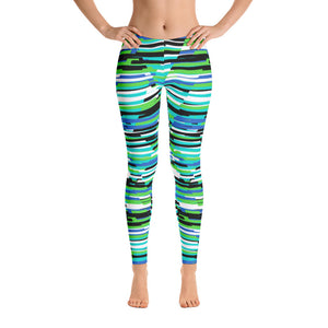 Abstract Leggings H