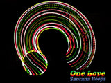 One Love Rasta LED Hula Hoop