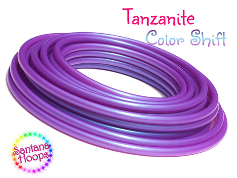 UV Tanzanite Color shift hula hoop