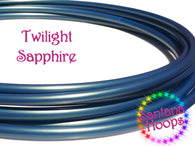 Twilight Sapphire Color Shift Polypro Hula Hoop