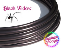 Black Widow Polypro Hula Hoop
