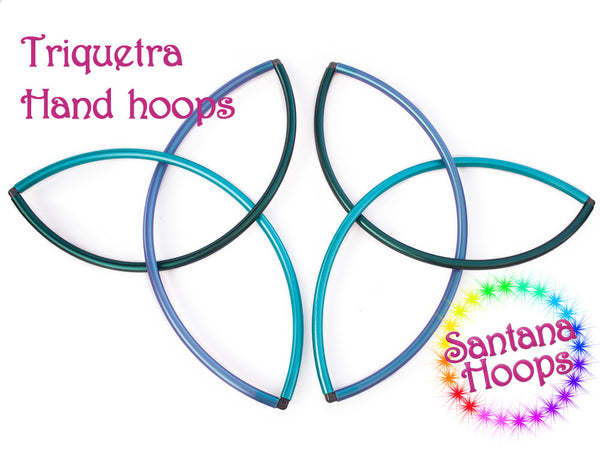 Triquetra Hoops Fans Flow Props Colored Polypro