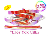 Helios Color shifting Taped Performance Hula Hoop UV Holo Glitter