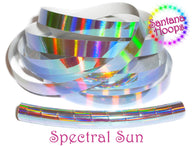 Spectral Sun Plasma Rainbow Taped Performance Hula Hoop