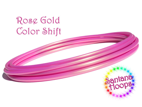 Rose Gold HDPE Hula Hoop