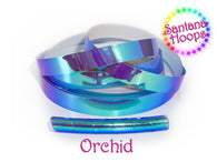 Orchid Color shifting Morph Taped Performance Hula Hoop