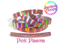 Pink Plasma Rainbow Taped Performance Hula Hoop