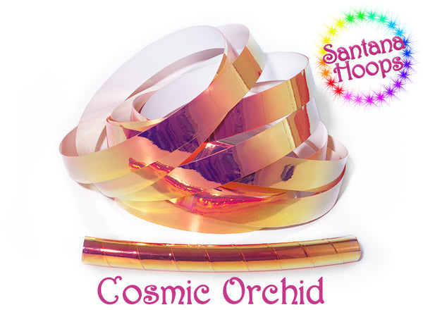 Cosmic Orchid Color shifting Taped Hula Hoop