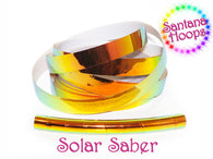 Solar Saber Color shifting Morph Taped Performance Hula Hoop