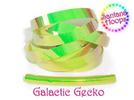 UV Galactic Gecko Color shifting Taped Performance Hula Hoop