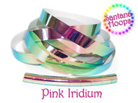 Pink Iridium Color shifting Morph Taped Performance Hula Hoop