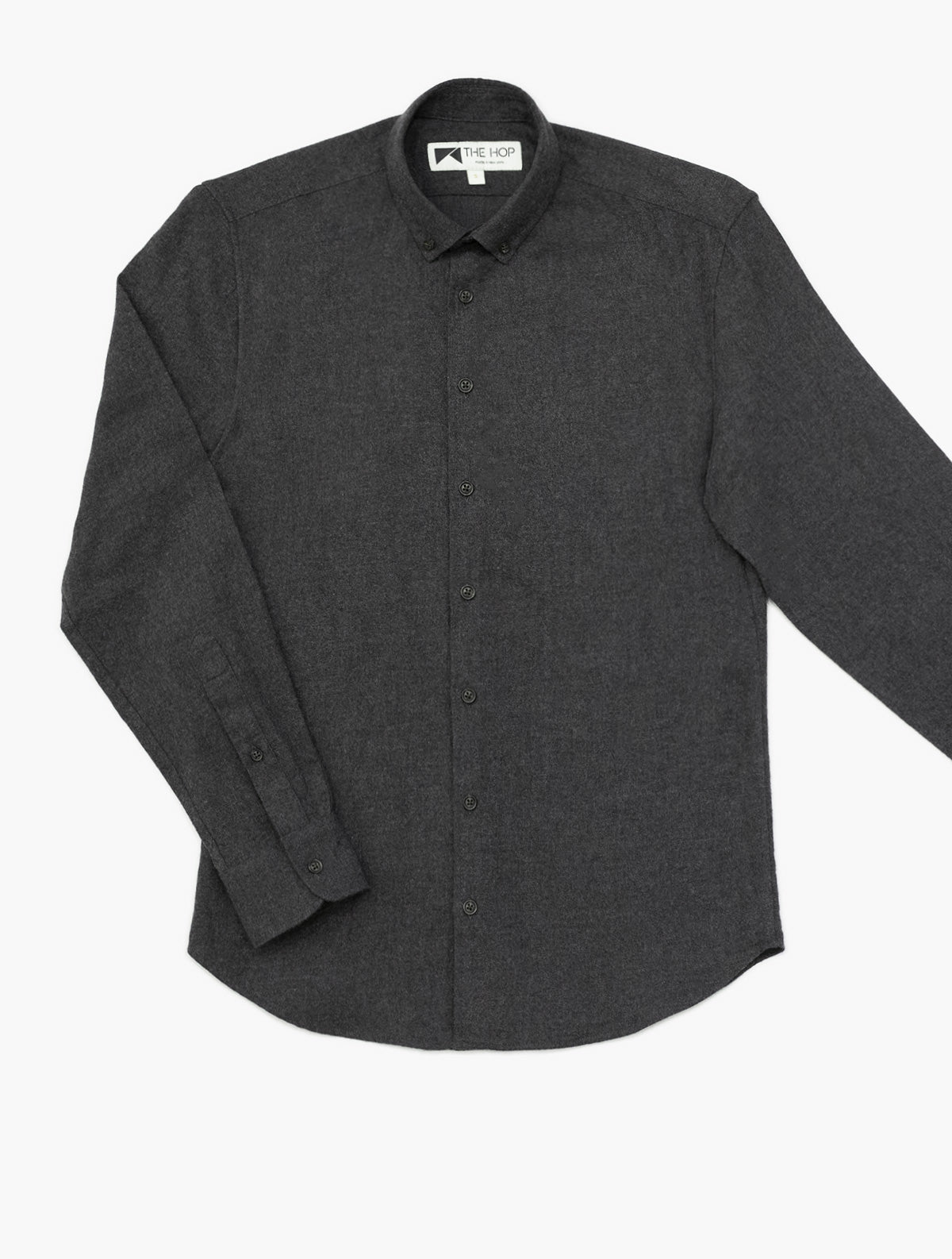 Bleecker Shirt in Charcoal