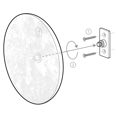 Moon Disk Installation Diagram