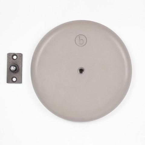 Concrete Moon Disk Hardware