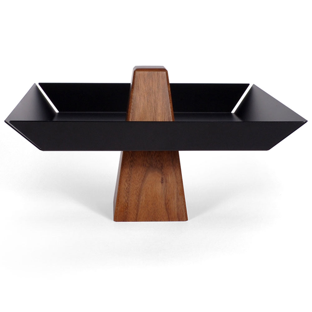 Intersecting Objects | Ansel Walnut & Black