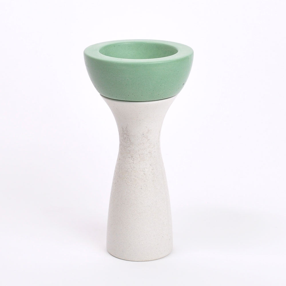 Ela 05 | Reversible Candleholder in Green