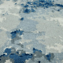 Natural Formations | Lunar Rug in Blue