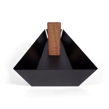 Intersecting Objects | Margo Walnut & Black