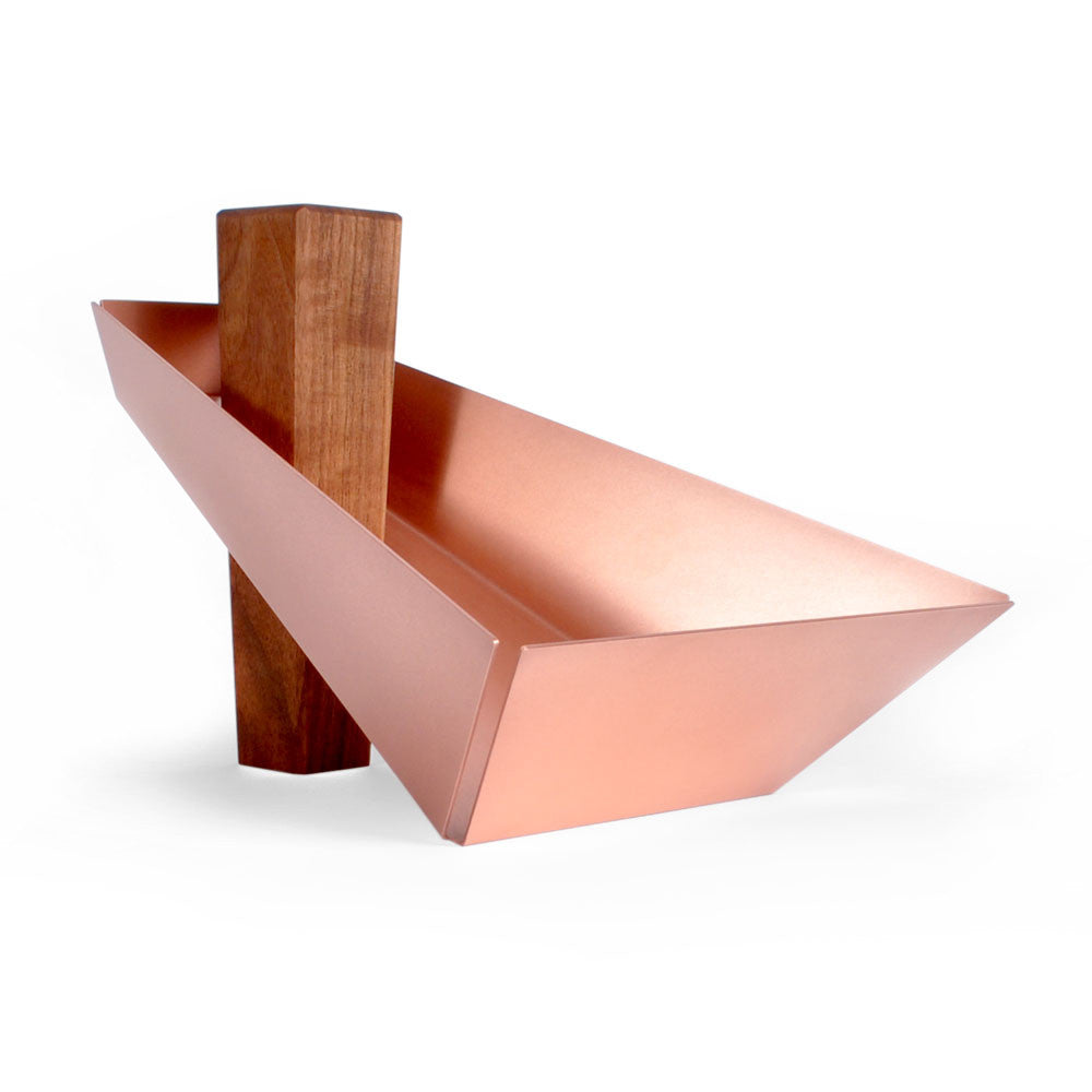 Intersecting Objects | Margo Walnut & Copper