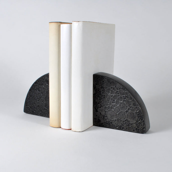 Moon Collection | Bookends - Dark Grey