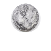"Moon Collection | Wall Art 24"" - Grey"