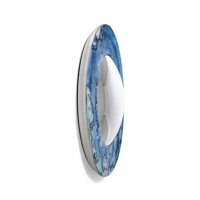Moon Collection | Convex Mirror - Blue