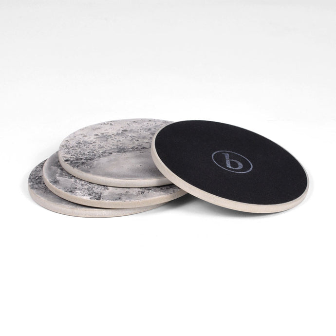 Moon Collection | Coaster Set in Grey