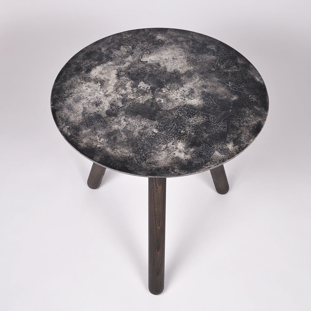 Moon Collection | Satellite Side Table - Dark Grey