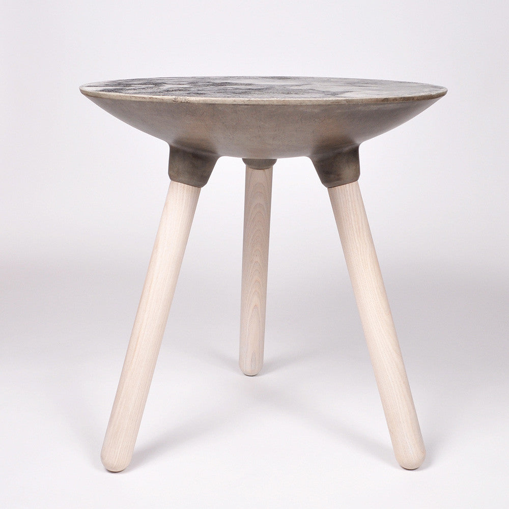 Beautiful Moon Collection | Side Table In Light Grey U2013 Bronsen