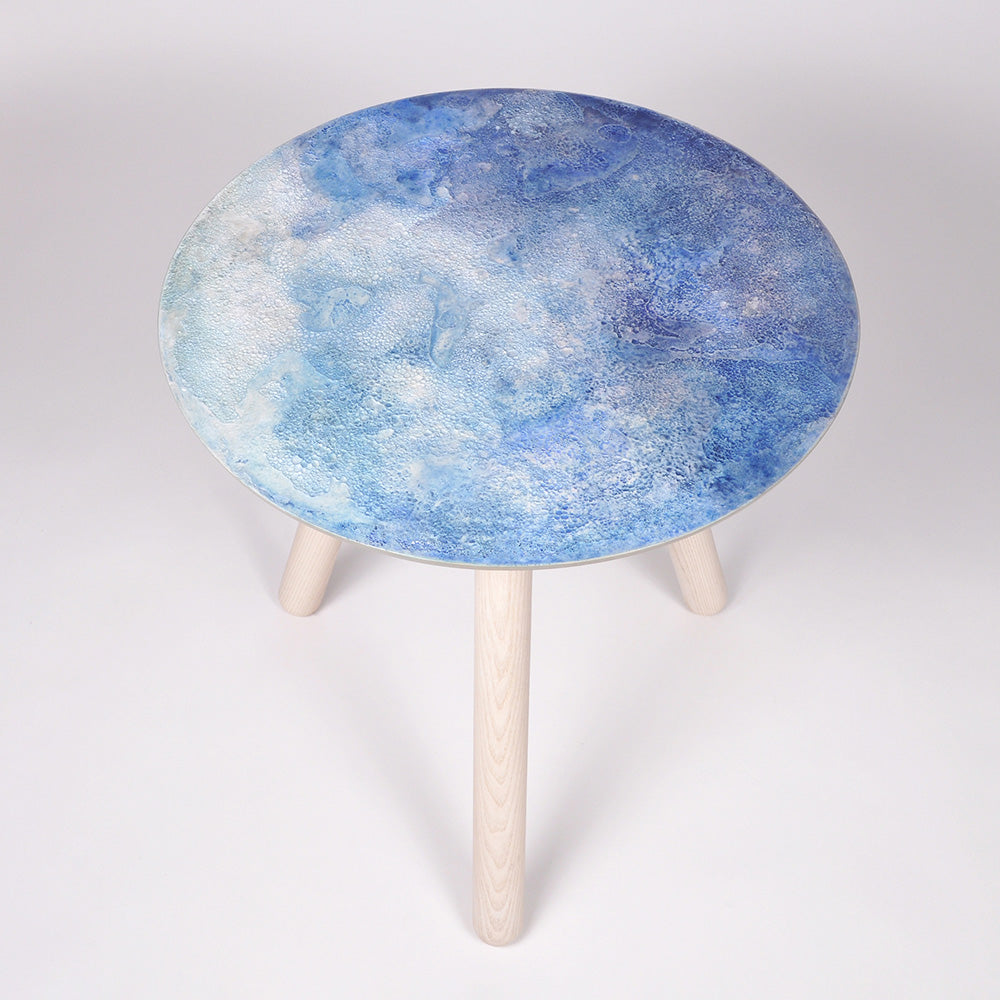 Moon Collection | Satellite Side Table - Blue