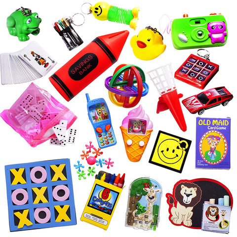 Great Toy Assortment For Party Favors And Carnival Prizes Smile