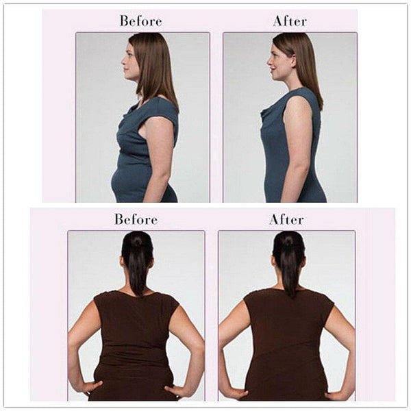 PACK of 3 - Each $24! - 3-in-1 Garment Slimming Cami Shaper Revolutionary Shapewear (Beige Black & White)