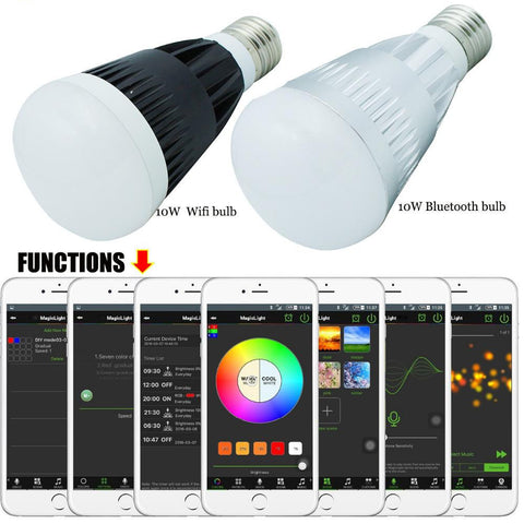 Smart Lâmpada LED Wifi & Bluetooth Magic Light - SmartTudo.com.br