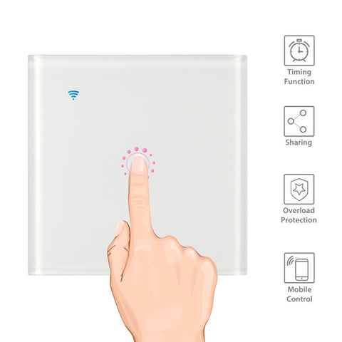 Smart Interruptores Wifi Touch Screen LemonBest