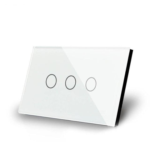 Smart Interruptor Wifi Touch Screen Wallpad 3 Teclas - SmartTudo.com.br