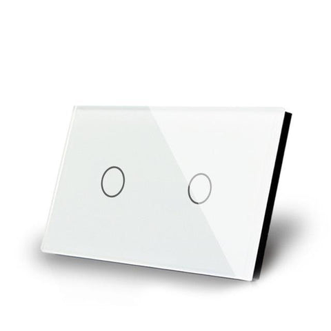 Smart Interruptor Wifi Touch Screen Wallpad 2 Teclas