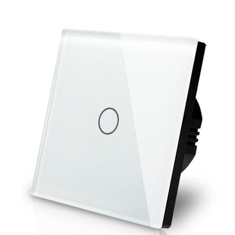 Smart Interruptor Wifi Touch Screen Wallpad 1 Tecla