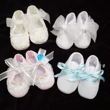 Will Beth Occasion pram shoes & booties (size 15 / NB) - boys and girls