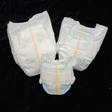 SHOW SPECIAL pack of 3 latex free/gel free real NICU nappies - safe for silicone babies