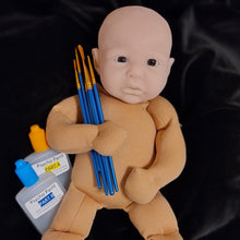 Make your own 16inch silicone baby kit + video tutorial -Naomi Awake