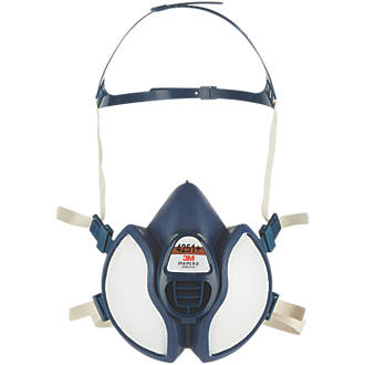 Half Mask respirator for use with solvents and dust