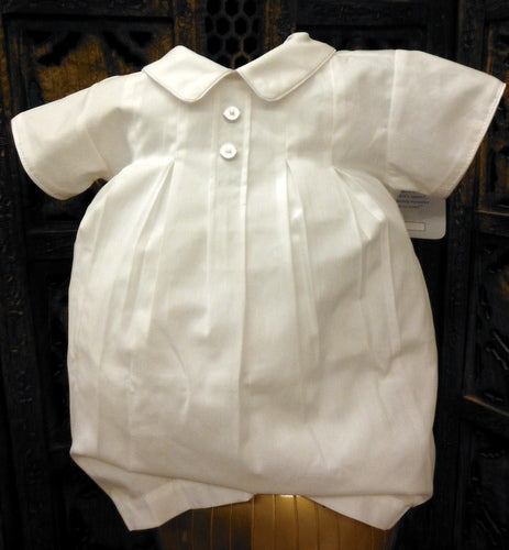 77812 Will Beth Boys Vintage Style White Button Front Romper Preemie. - Silicone Velvet Matting Powder