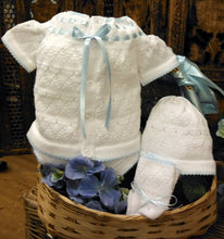 85640 Will'Beth Sweet White Knit Set Preemie & NB - boy and girl - Silicone Velvet Matting Powder