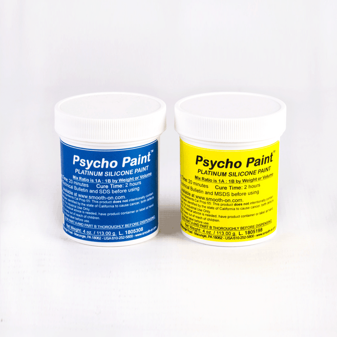 Psycho Paint for Silicone (Clear paint base)