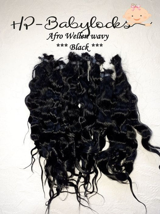 HP babylocks premium mohair Very Curly (afro) - only available in black or dark brown